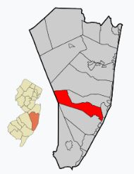 Pheasant Run Barnegat map