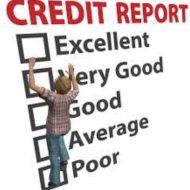 credit report terms