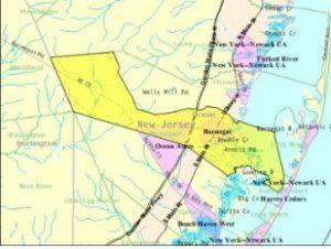 seacrest pines barnegat map