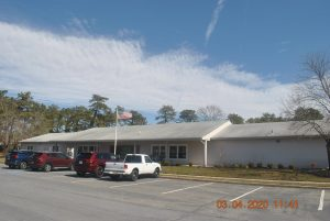 Brick Seaview Village clubhouse