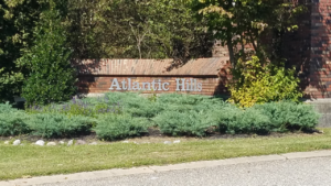 Atlantic Hills Stafford homes for sale sign